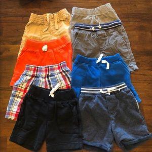 Bundle of 6 Size 18-24mo/2T Toddler Boys Shorts